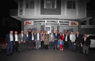 Çelik ve Toç'tan Rumeli Balkan'lara ziyaret