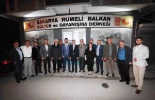 MHP'li Balaban Rumeli Balkan Derneği'nde