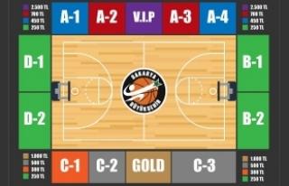 Basketbol kombine kartları satışa çıkıyor