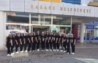 Karasu Bayanlar Halk Oyunları Ekibi Budapeşte Festivaline...
