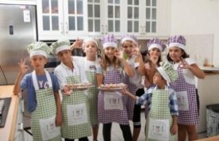 Sağlıklı Beslenme Kulubü'nde mutfak kültürü,...