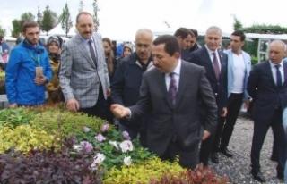 Sakarya Peyzaj ve Süs Bitkiciliği Festivali Açılışı...
