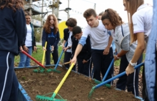 Bilim Kulübü öğrencileri Macera Park'a misafir...