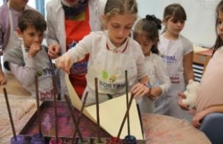 Çocuklar SGM'de yarınlara hazırlanıyor