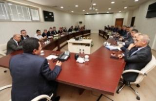 İl Ekonomi ve İl Değerlendirme Toplantıları Vali...