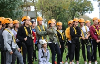 Macera Park'ta ekip ruhu ve heyecan bir arada