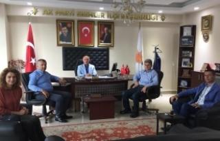 Trabzonlular Derneği, teşekkür ziyaretlerini sürdürüyor