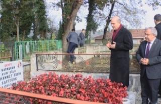 Bakan Soylu Şehit Safitürk'ün Kabrini ve Babasını...