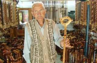 Geleceği Yaşatan 88 Yaşındaki Baston ustası hala...