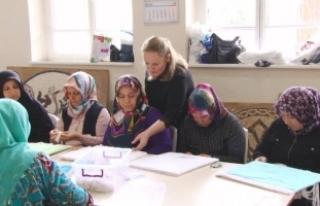 Osmaneli'li kadınlar hem para kazanıyorlar hem...
