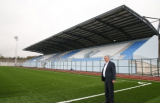Sapanca'nın spor tesisleri açılış için gün...