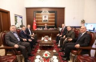 Uluslararası İslami Ticaret Birliği Başkanı Kabaev...