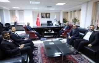 Vali Nayir'den Rektörlere İade-i Ziyaret
