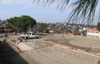 Yeni Mahalle'de çalışmalar sürüyor