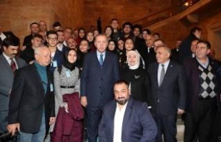 15 Temmuz Milli İrade Derneği Başkan Erdoğan'la...