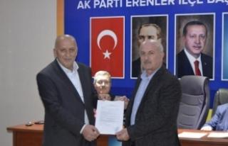 Ali Keskin Belediye meclis Üyeliği için Erenler'e...