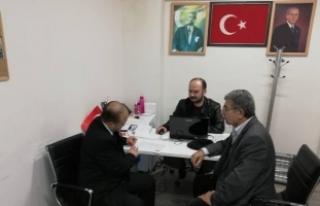 MHP'li Serkan Duman çalışmalarına hızlı başladı