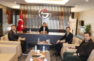 Nuri Oktay; MÜSİAD ve Sakarya GİAD'a ziyaret...