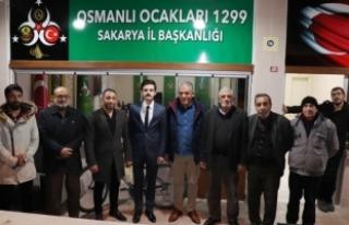 Osmanlı Ocakları 1299, Oktay'ı ağırladı