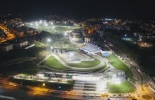 Şehrin yeni yaşam ve spor alanı 7/24 hizmette