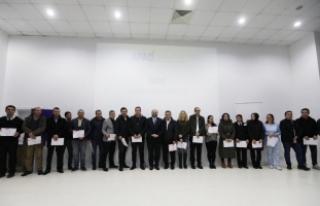 Vali Nayir Afad Gönüllerine Sertifikalarını Verdi