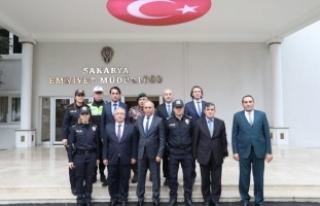 Vali Nayir'den Emniyet Ve Jandarmaya İade-i...