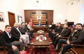 Vali Nayir'e Tebrik Ziyatleri Sürüyor