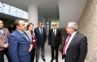 Vali Nayir Kurum Ziyaretlerine Devam Ediyor