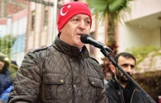 """Mehmet İspiroğlu """"Karasu Halkı Kendi Başkanını..."""