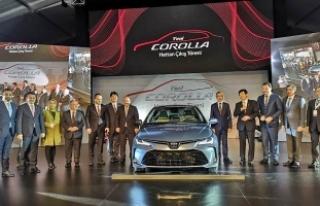 Toyota'nın Yeni Modelinin Hattan iniş Töreni...