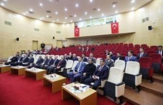 Vali Nayir il koordinasyon kurulu 4. toplantısında...