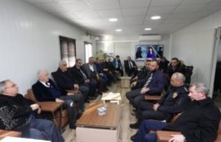 Vali Nayir Karasu'daki Bmc Fabrikası Proje Alanında...