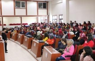 Büyükşehir'den stajyer öğrencilere eğitim