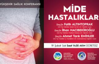 Mide Hastalıkları konferansı AKM'de