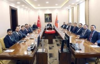 MÜSİAD Başkanı, Bakan Akar'ı ziyaret etti