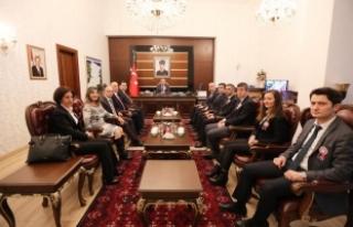 Vali Nayir'e Vergi Haftası Ziyareti