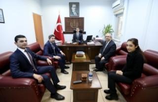 Vali Nayir'den Yargı Mensuplarına İade-i Ziyaret