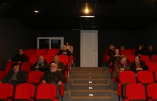 Yaşlılar sinema etkinliğinde buluştu