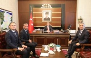 Echo İstanbul Ofisinden Vali Nayir'e Ziyaret