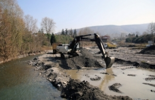 Gölü besleyen Kurtköy Deresi ıslah ediliyor