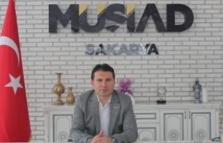 MÜSİAD Sakarya Başkanı Yaşar Coşkun 8 Mart Dünya...