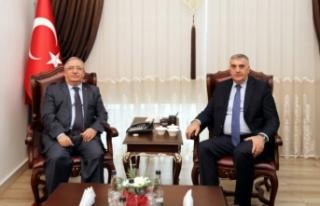 SBB Başkanı Toçoğlu'ndan Vali Nayir'e...