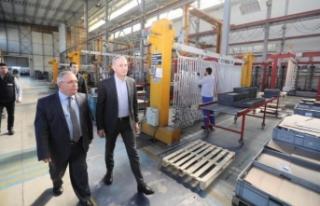 Vali Nayir Arma Filtre Fabrikasında İncelemelerde...