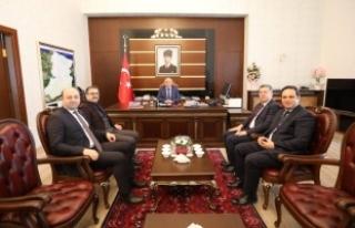 Vali Nayir'e Muahsebe Haftası Ziyareti