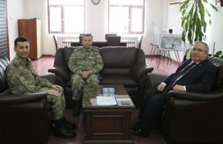 Vali Nayir'den Şehit Onbaşı Mustafa Özen Kışlasına...
