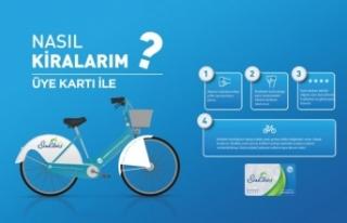 Akıllı bisikletlere kolay ulaşım