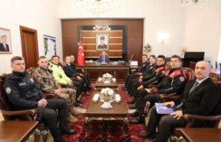 Emniyet Teşkilatından Vali Nayir'e Polis Haftası...
