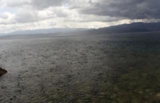 Göl seviyesi iki günde 6 santimetre yükseldi