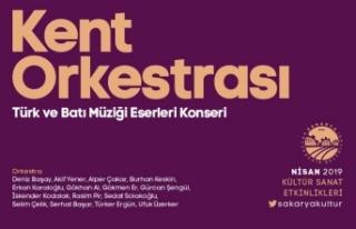 Kent Orkestrası konseri Ziya Taşkent'te