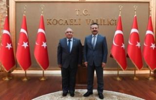 Vali Nayir'den Kocaeli Valisi ve Büyükşehir Belediye...
